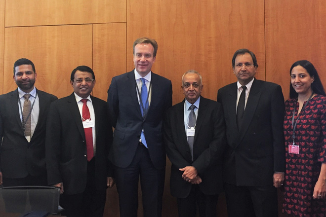 Sri Lanka eyes hosting an Investment Round Table with World Economic Forum