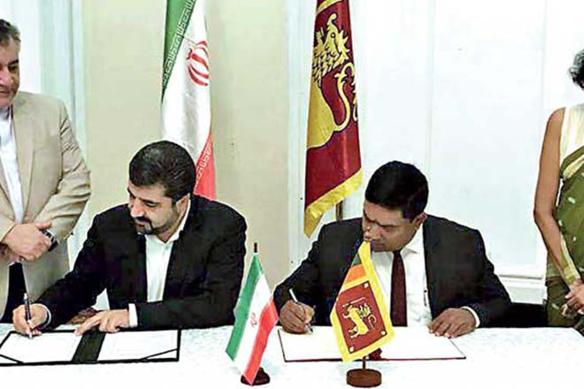 Sri Lanka – Iran sign mutual cooperation deal