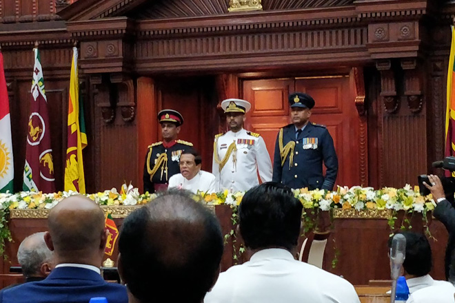 President congratulates new cabinet; changes to UPFA side soon