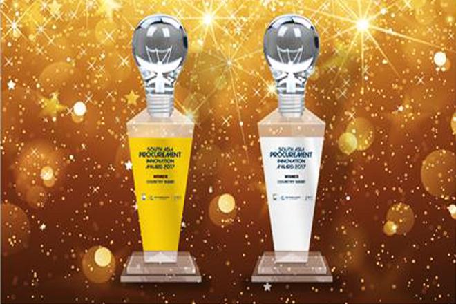 Sri Lanka receives South Asia Procurement Innovation Award