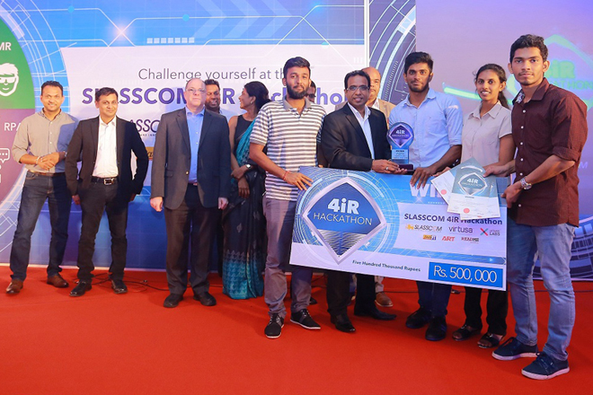 Team Phoenix from Moratuwa University wins SLASSCOM 4iR Hackathon