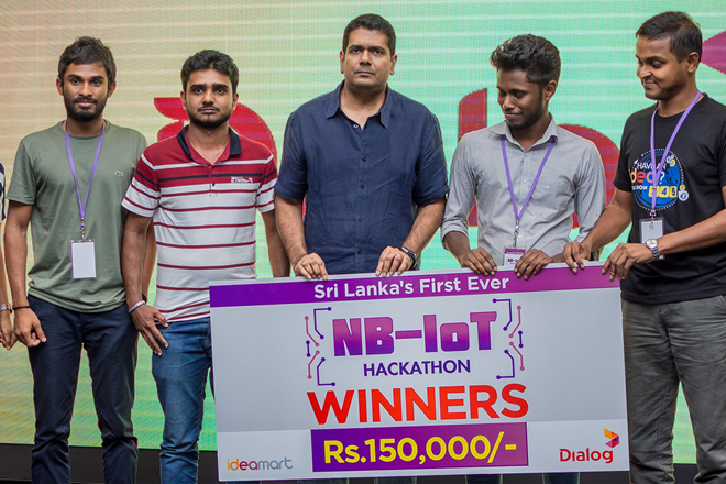 Dialog and Ideamart host Sri Lanka's first ever NB-IoT Hackathon
