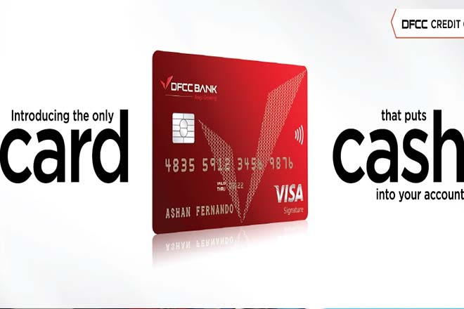 DFCC relaunches their credit cards