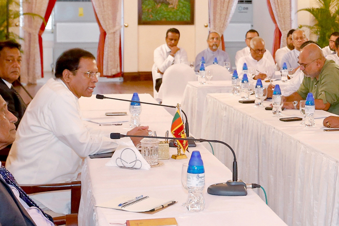 Joint committee of both parties to study cabinet reshuffle: President