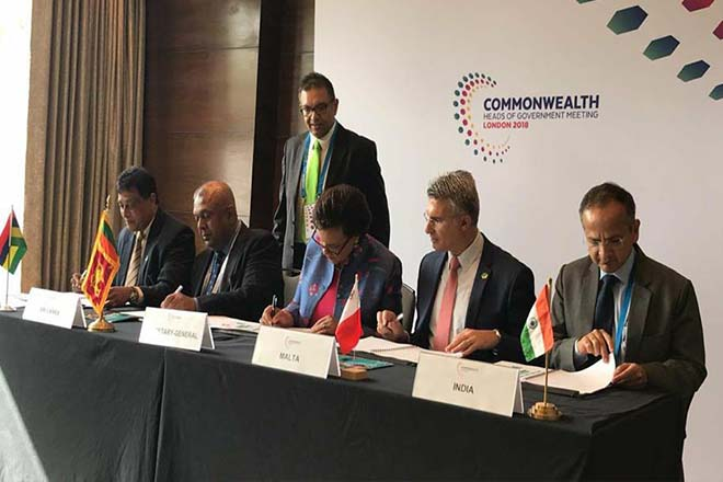Sri Lanka pledges support for Commonwealth small states trade finance facility