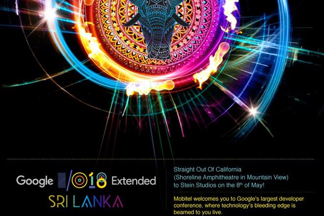 Mobitel to host Google I/O Extended Sri Lanka 2018