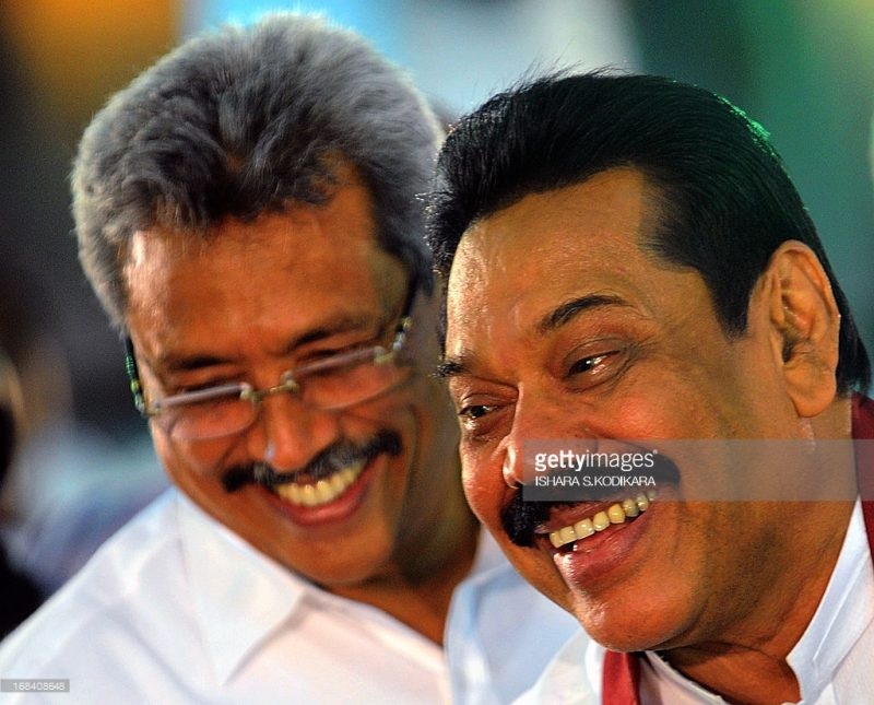 Pohottuwa's President and the Rajapaksa dotage