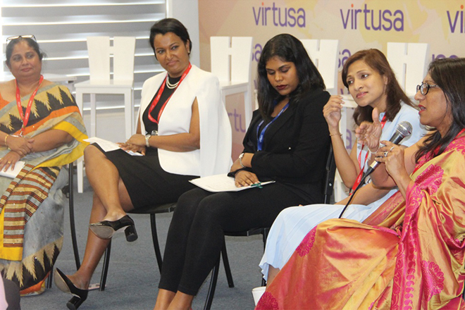 Virtusa hosts panel discussion on how women can overcome career challenges