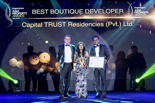 Capital Trust Residencies wins multiple awards at Asia Property Awards 2018