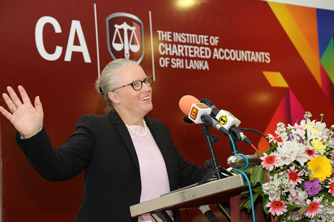 Let technology be an opportunity, not a challenge: IFAC President tells CA Sri Lanka