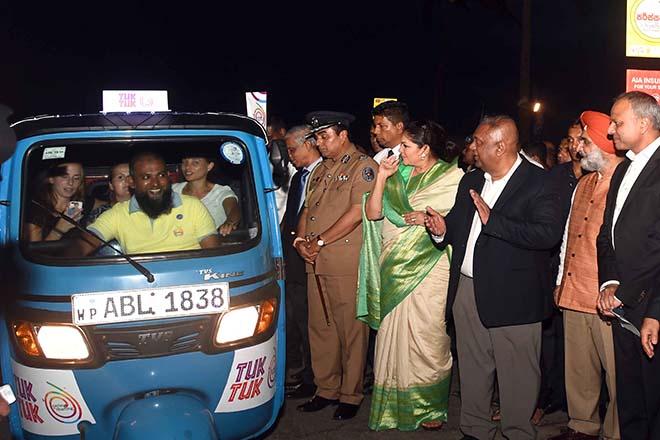 Sri Lanka launch tourist-friendly Tuk Tuk service