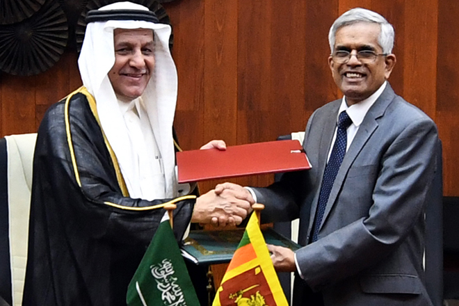 Additional loan for Kaluganga project from Saudi Fund for Development