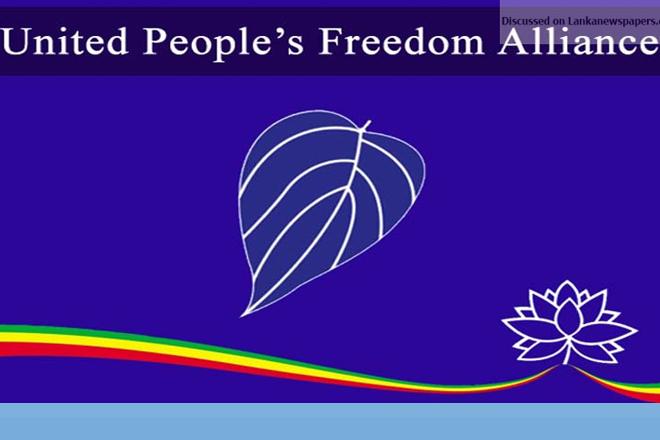 UPFA opposes giving opposition leadership to Joint Opposition