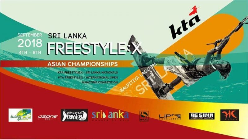 Kiteboarding's KTA Asian Freestyle Championships come to Kalpitiya