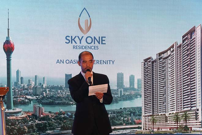Sky One residencies launched in Colombo