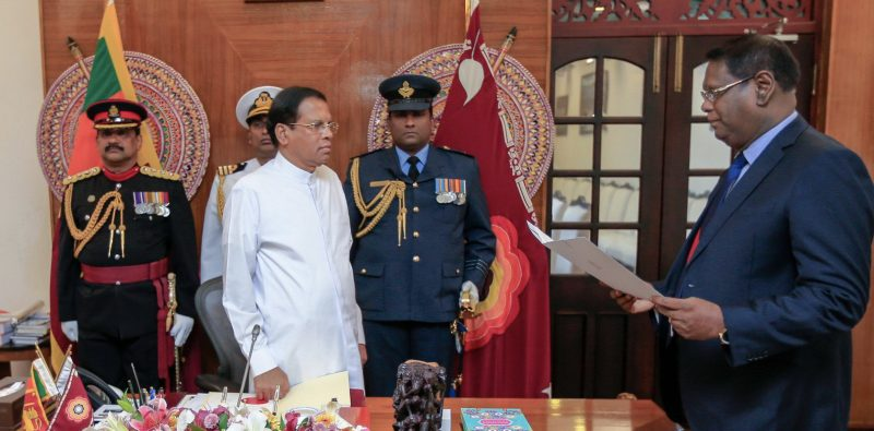President appoints and CC approves Judge Nalin Perera as the 46th Chief Justice of Sri Lanka