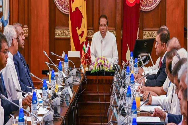 President, NEC hold discussions on devaluation of rupee and economy
