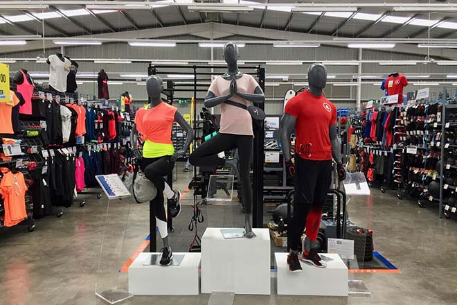 Global sporting retailer, Decathlon, opens 1st store at Battaramulla
