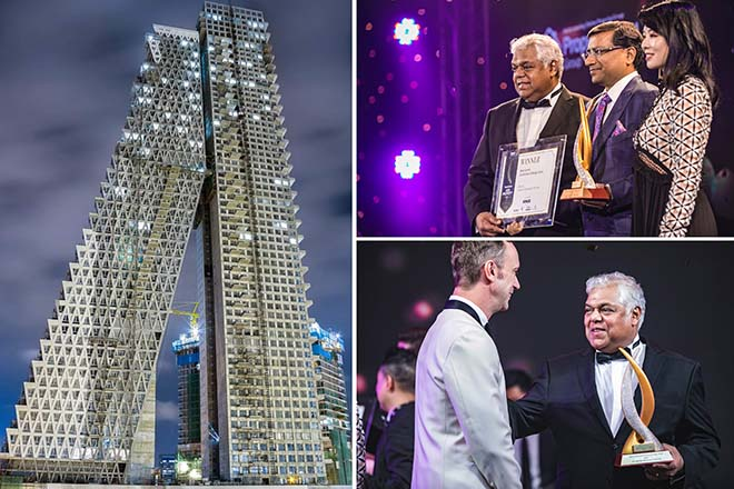 Sri Lanka's Altair adjudged best condo in Asia for architectural design