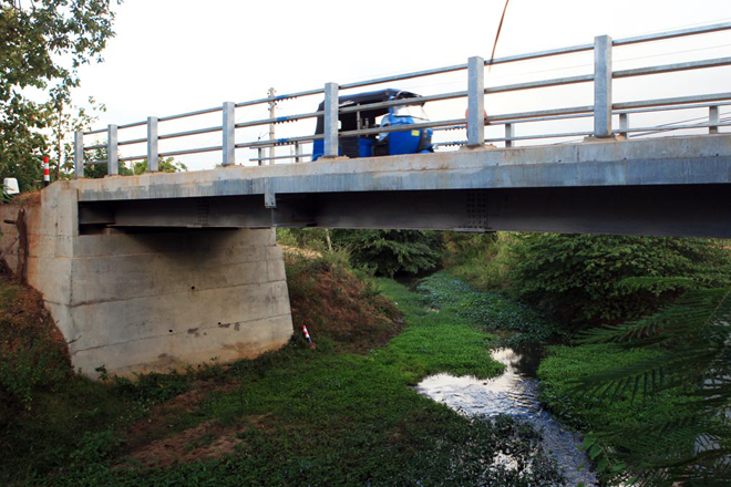 Financial assistance from Netherlands for construction of rural bridges