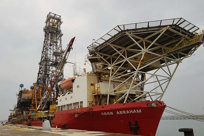 Hayleys Energy commences first oil and gas drillship lay-up at Hambantota, Sri Lanka