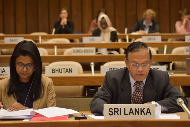 Sri Lanka pledges USD 15,000 to UNHCR in response to 2019 Global Appeal