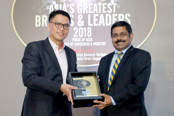 "ABSF names ComBank MD S. Renganathan one of ""Asia's Greatest Leaders"""