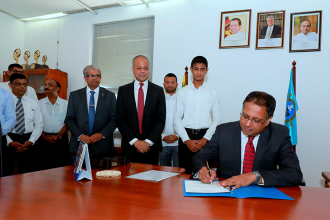 Kavan Ratnayaka assumes duties as Chairman of Sri Lanka Ports Authority