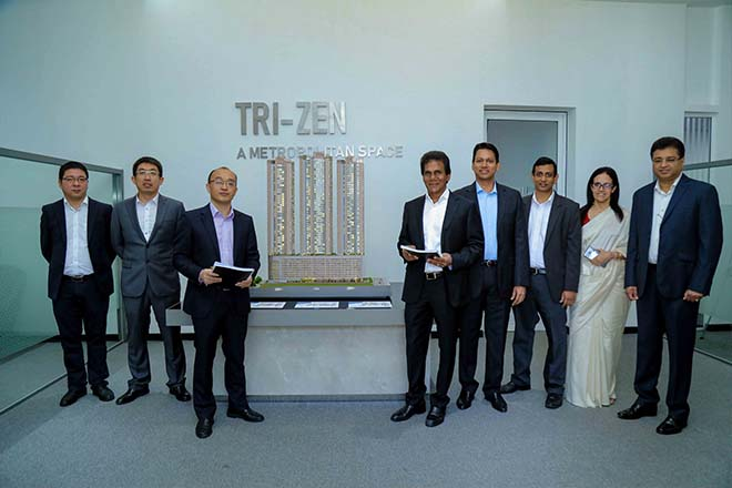 China's CSCEC named as contractors for TRI-ZEN