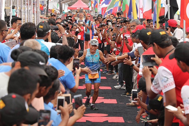 Sri Lanka Ports Authority partners with Ironman 70.3 triathlon in Colombo
