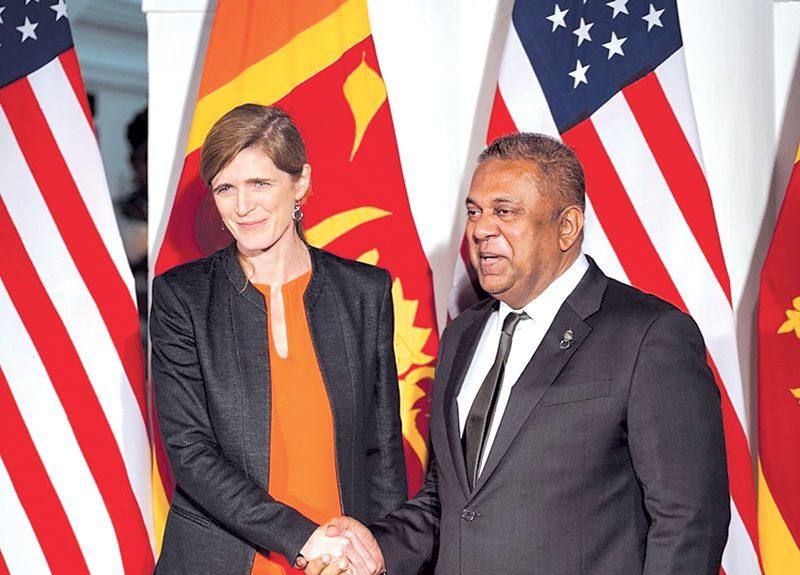 Democracy Restored: Samantha Power salutes Mangala, Sri Lanka's defeat of autocracy