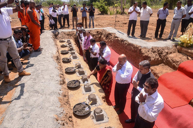 Construction of Sri Lanka's first Cold Storage complex for perishables inaugurated