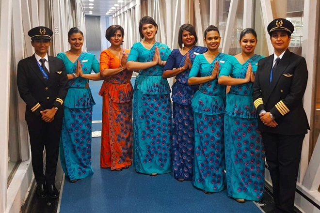 SriLankan operates its first all female crew flight recognizing Women's Day