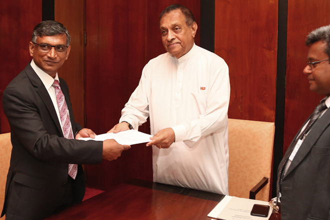 Chula Wickramaratne sworn in as new Auditor General