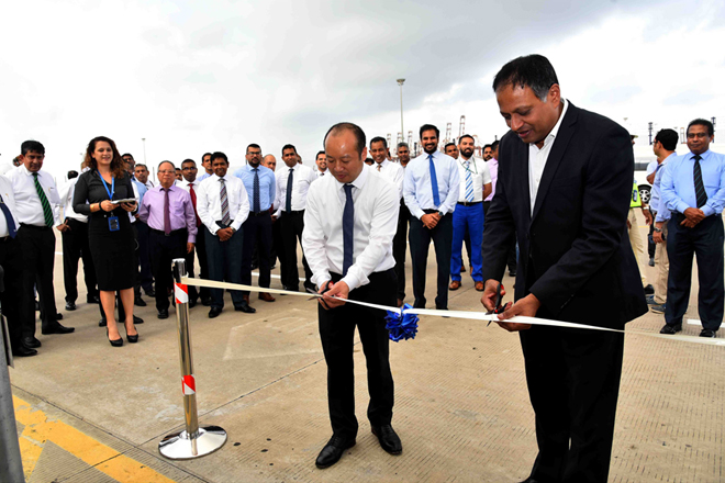 CICT invests USD 1.5 mn to open Sri Lanka's only Dangerous Goods Storage Facility
