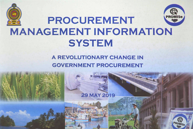 Sri Lanka introduces an electronic Government Procurement System