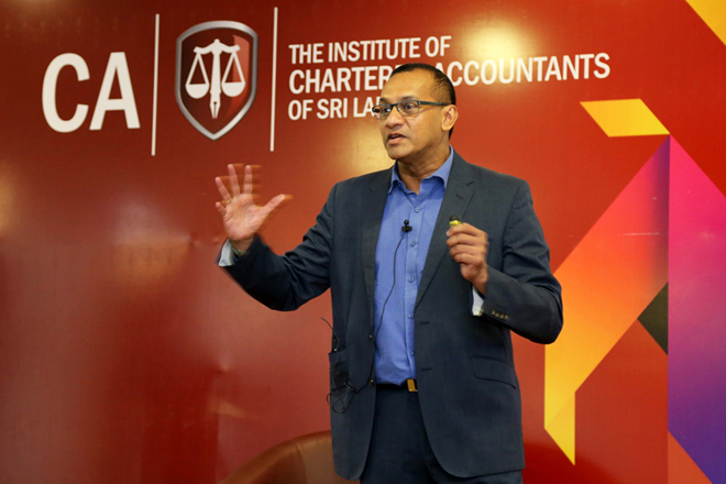 Ravi Fernando highlights need to embed corporate sustainability subject into curriculums