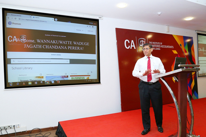 CA Sri Lanka Library goes digital giving professionals & students 24/7 access