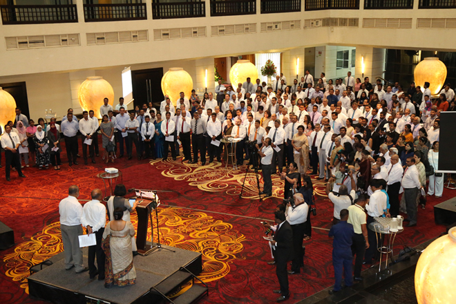 Sri Lanka's private sector took a Pledge for Unity