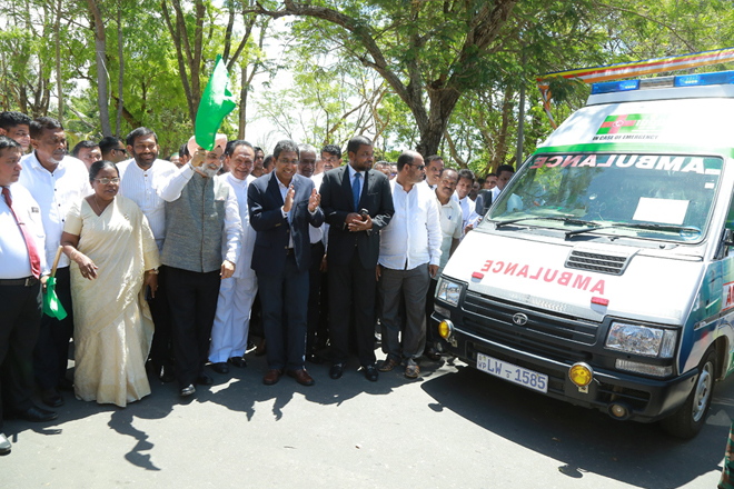 1990 Suwaseriya ambulance service now covers entire nation