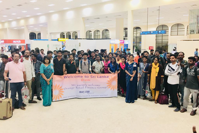 200 MICE travelers from Chennai arrived Sri Lanka