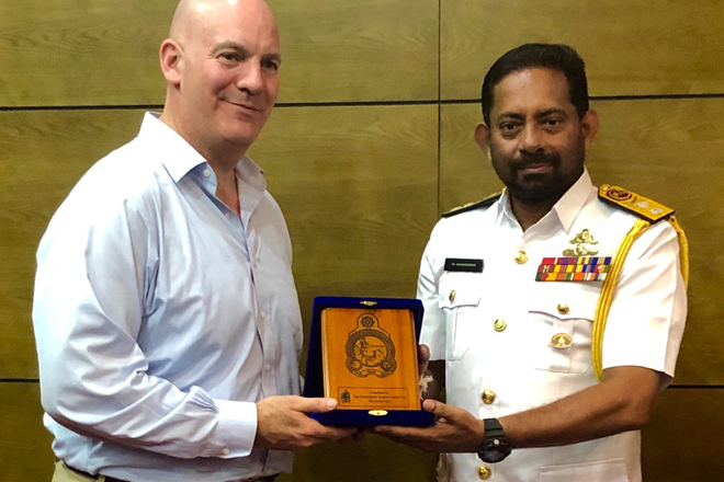 US State Department Assistant Secretary for Political-Military Affairs visits Sri Lanka