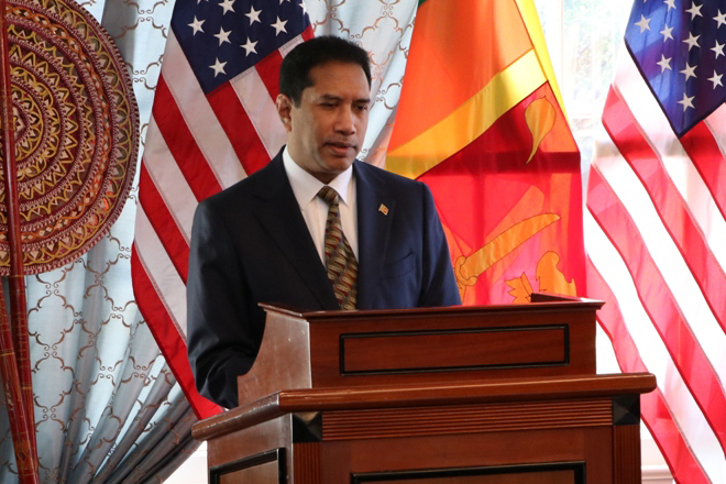 Ambassador-designate of Sri Lanka to United States, Rodney Perera assumes duties