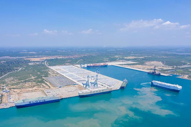 Hambantota Port sees highest monthly RORO volume in April