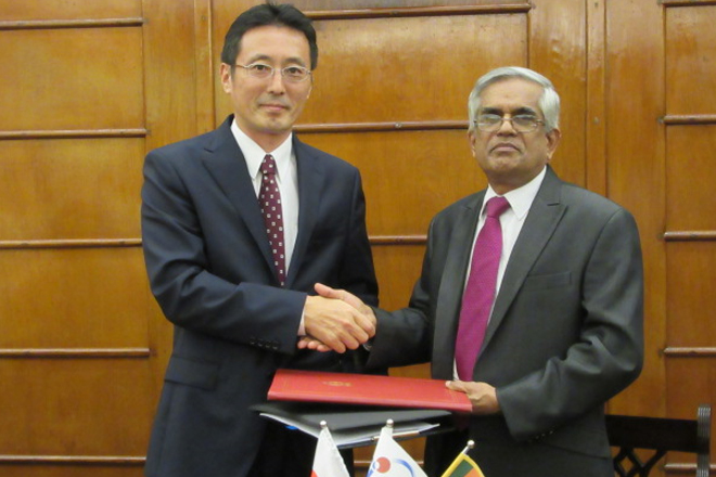 JICA extends JPY 263mn grant for Sri Lanka public sector development