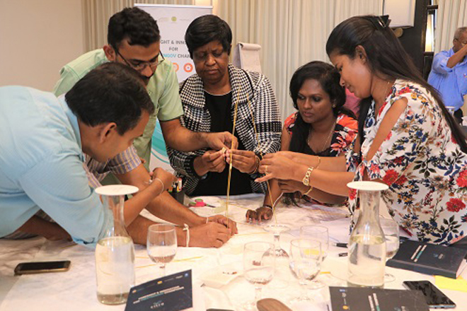 Citra Social Innovation Lab training inspires Sri Lanka public sector officials
