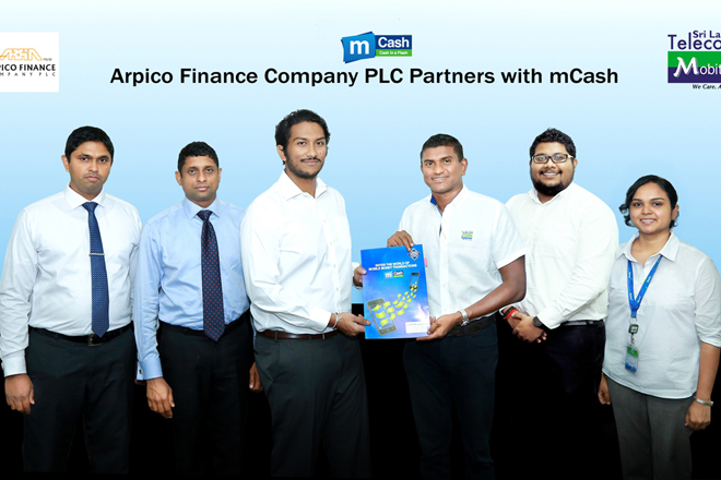 Arpico Finance partners with mCash to offer digitalized payments