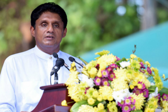 UNP declares Sajith Premadasa as their Presidential candidate