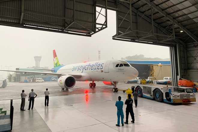 SriLankan Engineering welcomes its latest customer Air Seychelles