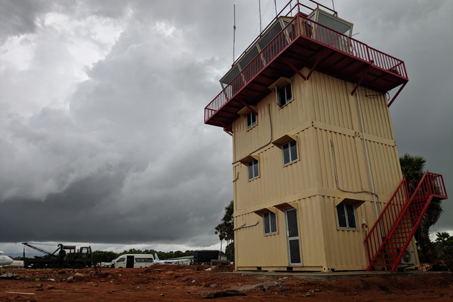 Advantis Engineering completes modular construction at Jaffna Airport in 2 months